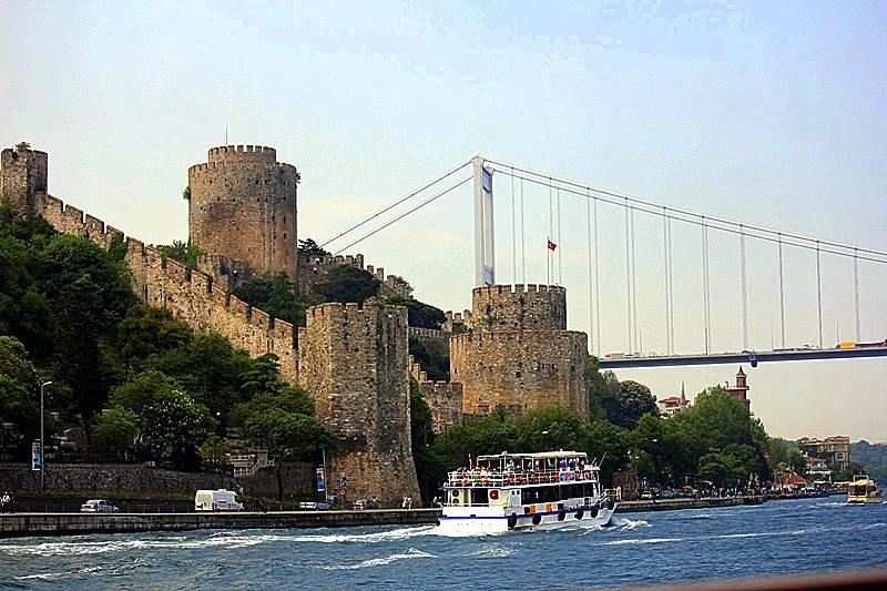 Rumelihisar Reich Istanbul Türkei Faks/_M 004 iskelesi Rumeli Hisari Osman